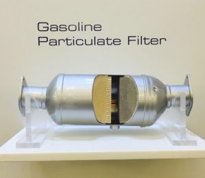 gasoline particulate filter Faurecia